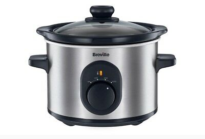 Breville 1.5 Litre 2 Person Slow Cooker Crock Pot Vtp169