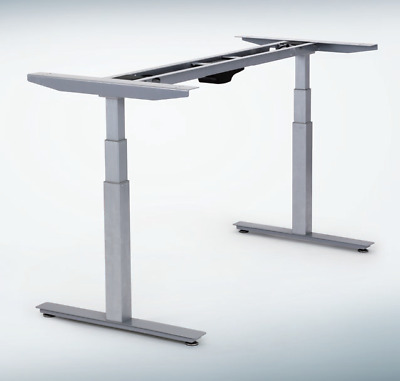 Electric Adjustable Height Office Stand Standing Desk Table dual motors memory