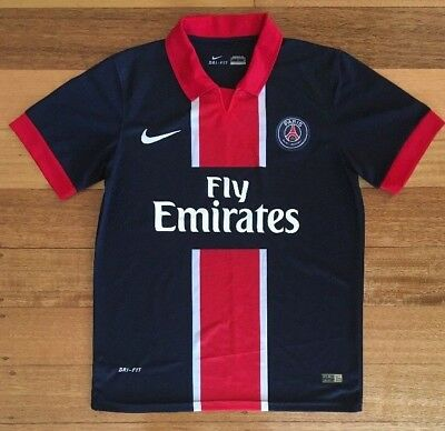 8d4973b1a3f PSG Paris Saint Germain Men s Football soccer jersey. Nike. Mens Size M.