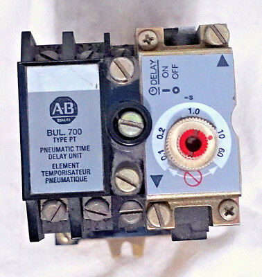 Allen Bradley 700-Pt400A1, 700-Pt Ac Relay & Time Delay Unit