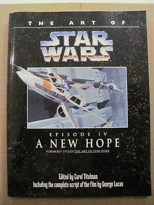 The Art of Star Wars Episode IV A New Hope 1994 Reissue TPB Del Ray