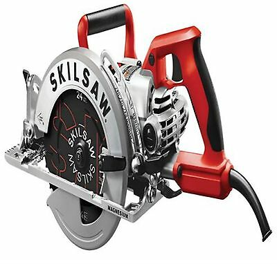 Skil 15-Amp 7-1/4-in Worm Drive Corded Circular Saw Spindle Lock Home Power Tool