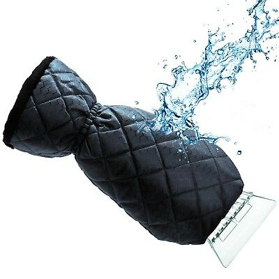 Ice Scraper Mitt For Car Windshield Snow Scrapers with Waterproof Glove Lined of
