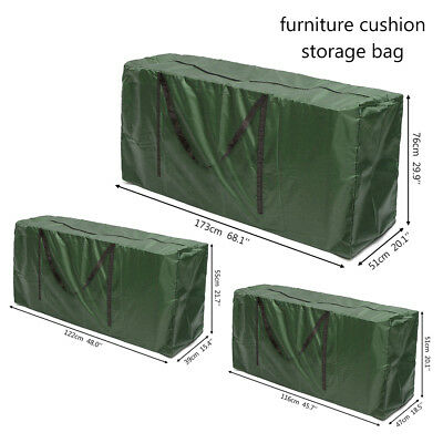 Extra Large Rattan Garden Furniture Covers Patio Cushion Waterproof Outdoor Case