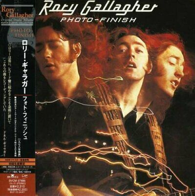 RORY GALLAGHER Photo-Finish JAPAN CD BVCM-37886 2007 OBI