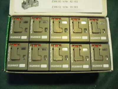 Kuhnke 114A4-120VAC 1L 14 pin Amp ice cube relay 83839