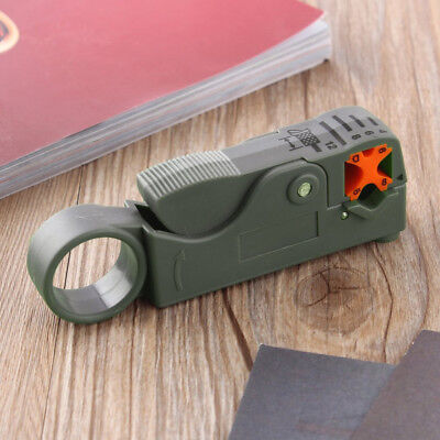 Rotary Coaxial Stripper / Cutter tool for RG59 / RG6 / RG58 cables