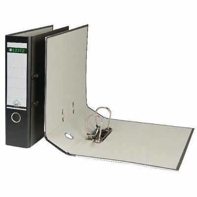 LEITZ 180° LEVER ARCH FILES BLACK 10 PACK SP OFFER £6.25 each FREE DEL NEW
