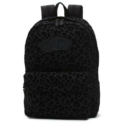 Vans Realm Backpack - Black Leopard