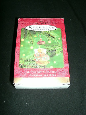 Hallmark Keepsake Ornament ~ Baby's First Christmas Squirrel 2000