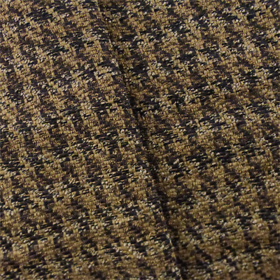 Culp Saddle Brown Rustic Faux Leather Upholstery Fabric Fabric By