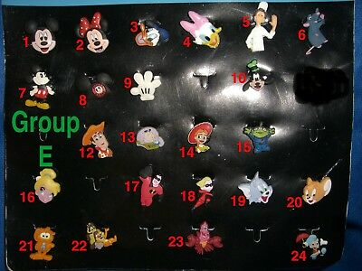 Disney, Toy Story, Tom and Jerry, Garfield Single Cartoons Shoe Charm for Crocs
