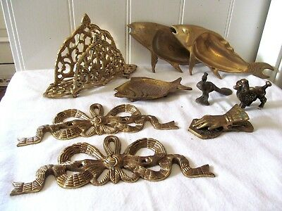 Job Lot Of Antique / Vintage Brass Ware Job Lot. Cheap