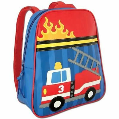 Personalized GoGo Stephen Joseph Backpack Firetruck