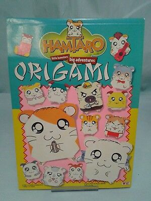 RITSUKO Kawai Hamataro Origami little hamsters big adventures RARE unused