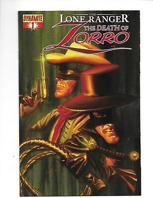 Lot of 5 The Lone Ranger The Death of Zorro 1, 2, 3, 4 & 5 Complete Mini VF Dyna