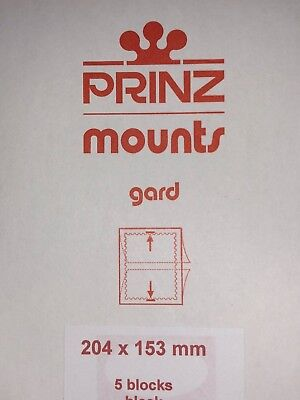Prinz Stamp Mounts 204/153 ***We Are A Veteran Supportive Business***