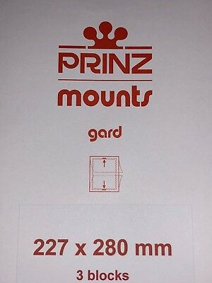 Prinz Stamp Mounts 227/280 - ***We Are A Veteran Supportive Business***
