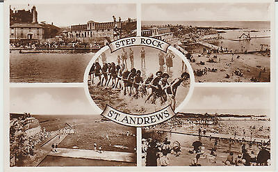 St Andrews - Multiview - Real Photo  Postcard #