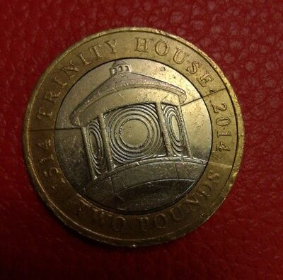 UK Rare Great Britain £2 POUND coin - trinity house- Coin Hunt 2014