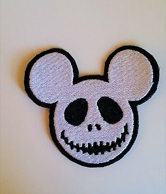 Disney The Nightmare Before Christmas Jack Skellington Mickey Mouse Ears Patch