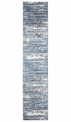 Hallway Runner Hall Runner Rug Blue Grey Carpet New 4 Meter Long Mat Modern