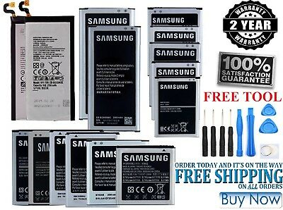 Replacement Battery For Samsung Galaxy S2 S3 S4 S5 S6 S7 S8 Plus Note3 4 5 Edge