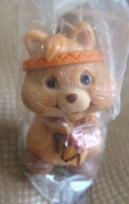Hallmark Little Favorites Squirrel w/Tom Tom Drum & Feather Merry Miniature NIP