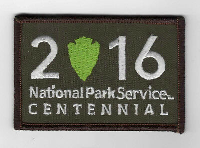 National Park Service - 2016 - 100 Year Anniversary logo -  camo version  Patch