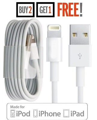OEM Apple Lightning to USB Charger Data Cable Cord for iPhone 3ft/1m SEALED