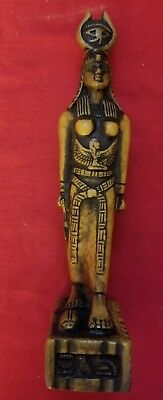 Egyptian stone statue Queen Isis in EXCELLENT Condition