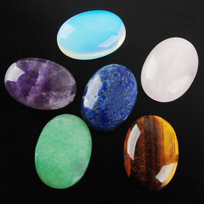 Nature Semi Precious Natural Loose Beads Cabs Oval Stone Gem Cabochon
