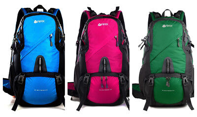 Waterproof Interior Compartment Nylon Backpack With External Frame Hiking Bag
