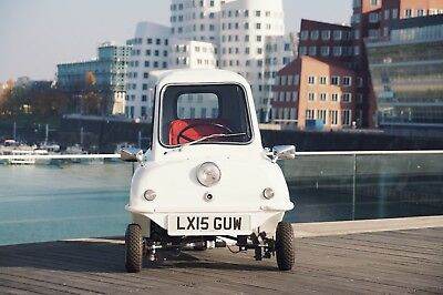 Peel P50 Kleinstes Auto der Welt LIMITED EDITION 1 of 50  | Guinness Buch
