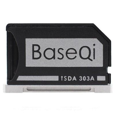 "NEW BASEQI aluminum microSD Adapter for MacBook Pro Retina 13"" From Japan"