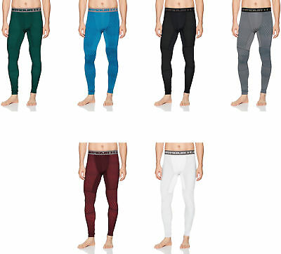 Under Armour Men's Coldgear Jacquard Compression Leggings, 6 Colors