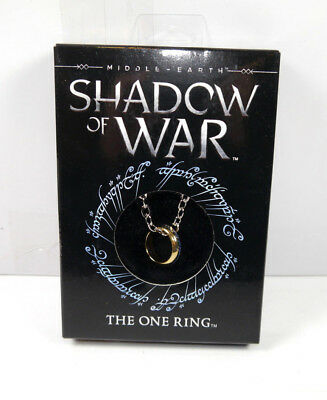 HERR DER RINGE Lord of the Rings Shadow of War The One Ring Kette NOBLE Neu K24