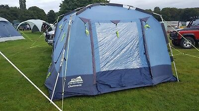 khyam tent ( 4 people ) & OUTWELL Arkansas 5 Tent with poles. Camp uk rating 9.5/10 RRP £800 ...