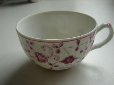 "Teetasse, 8,5cm,  ""China Purpur"", handgemalt, August Warnecke, 2 verfügbar"
