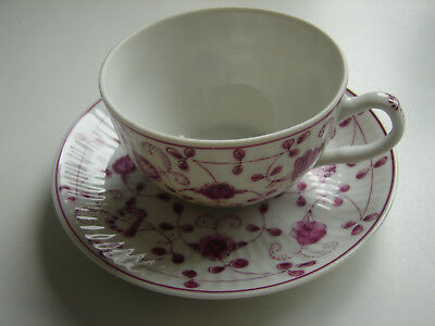 "Teetasse/UT, 8,5cm/13,5cm ""China Purpur"", handgemalt, August Warnecke"