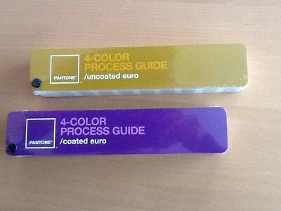 Pantone 4 - Color Process Guide - Coated/uncoated
