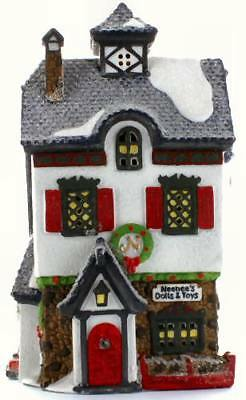 "Dept 56 - North Pole Series - ""NEENEE'S DOLLS & TOYS"" -  Excellent Condition!"