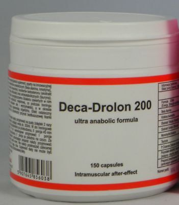 DECA DROLON 200 - 150 caps ULTRA ANABOLIC FORMULA, Muscle Growth, Testosterone
