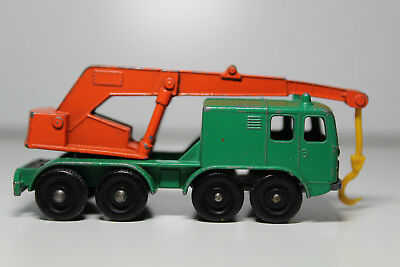 Matchbox - 8 Wheel Crane - No. 30