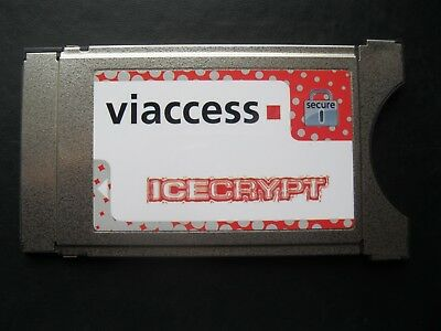 Icecrypt VIACCESS 4 Satellite HD TV secure Conditional Access Module CI CAM