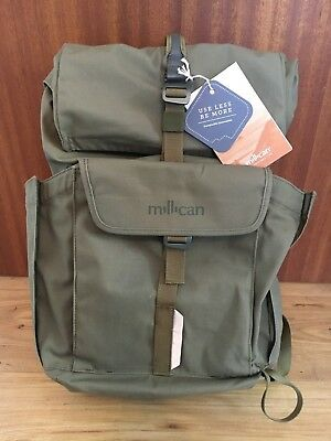 Millican Smith The Roll Pack (25L) moss/grün – Daypack Rucksack Backpack **TOP**