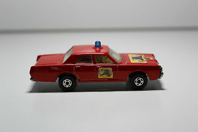Matchbox - Mercury Fire Chief - No. 59