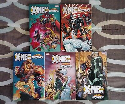 X-Men Age of Apocalypse Complete Dawn Alpha Reign Omega Twilight tpb lot