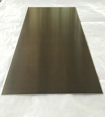 "2 Pieces - 1/8"" .125 Aluminum Sheet Plate 12"" x 48"" 5052 -Save $ When You Buy 2!"