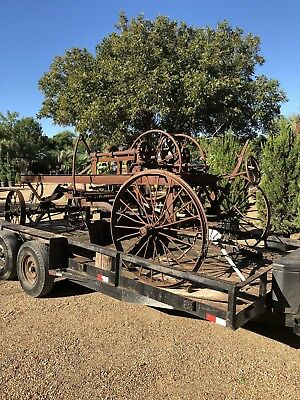 Antique Farm Equipment- Horse Drawn Grader